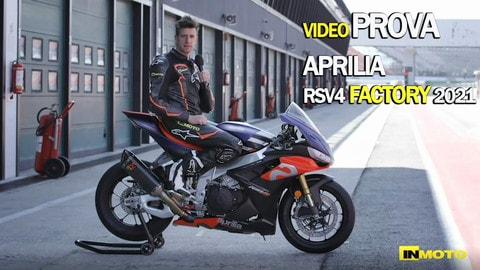 Video-prova Aprilia RSV4 Factory 2021: l'arma totale!