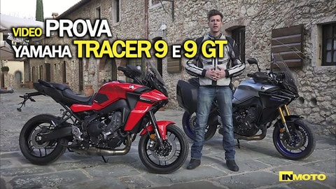 Video-prova Yamaha Tracer 9 e 9 GT: chilometri e divertimento
