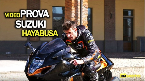 Video-prova Suzuki GSX 1300 R Hayabusa: pronta al decollo