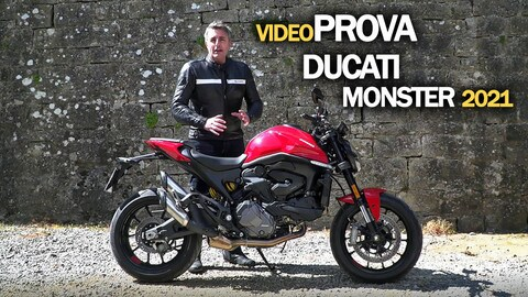 Video-prova Ducati Monster 2021: è sempre lui?