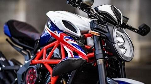 MV Agusta London Special Dragster, il modello celebrativo