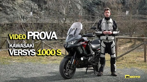 Video-Prova kawasaki Versys 1000 S: infaticabile passista!