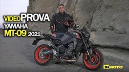 Video-prova Yamaha MT-09 2021: un motore con una moto attorno