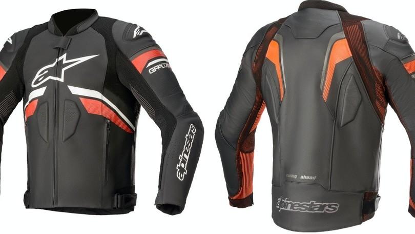 Alpinestars, la giacca in pelle GP Plus Rideknit