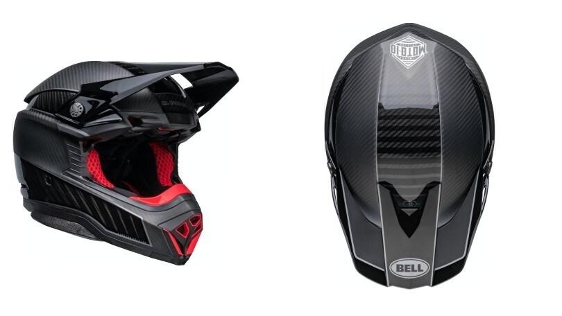 Bell Moto-10, casco con la rivoluzionaria tecnologia Spherical