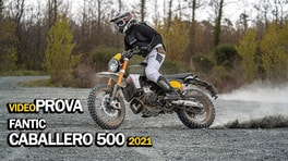 Prova Fantic Caballero 500: una base, 5 gusti! VIDEO