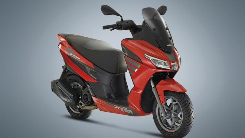Aprilia, ecco il nuovo SXR 50: scooter tutto comfort e grinta