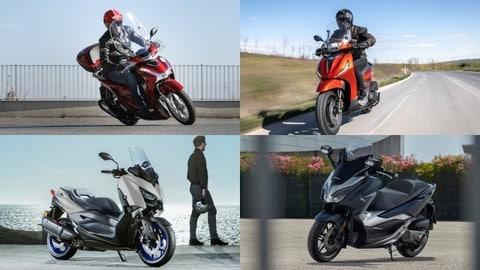 Top 10: gli scooter più venduti ad aprile 2021