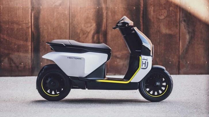 Il primo scooter di Husqvarna? Si chiamerà Vektorr e sarà elettrico!