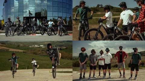 Giant e VR46 Riders Academy: giovani talenti in sella alla Trance X E+ Pro