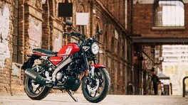 Yamaha XSR125, la retrò per chi ha la patente A1