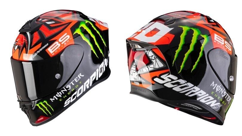 Scorpion EXO R1 Air, il casco racing si fa più leggero e funzionale