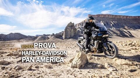 Video-prova Harley-Davidson Pan America: rivoluzione totale