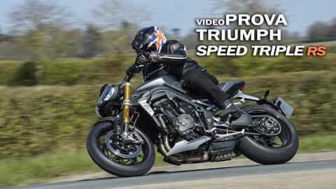 Video-prova Triumph Speed Triple 1200 RS, cattiveria in salsa british
