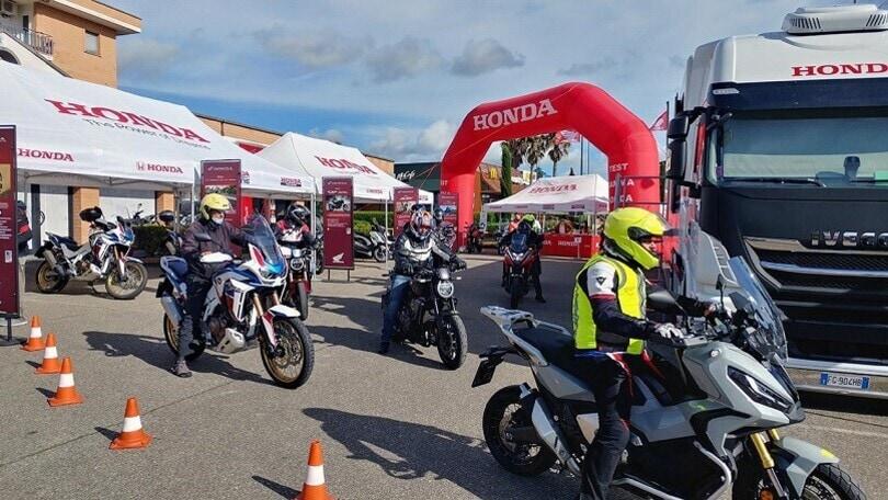 Honda, le novità 2021 e test ride al Milano Monza Motor Show