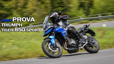 Prova Triumph Tiger 850 Sport: la super versatile VIDEO