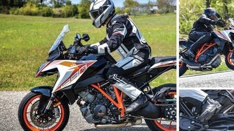 Video, regole di base: la posizione di guida in moto