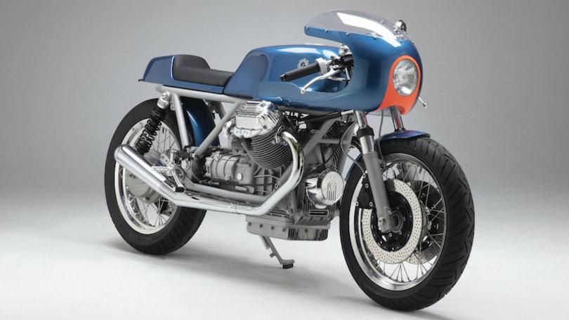 KM33, la Moto Guzzi Le Mans III rinasce con Kaffeemaschine