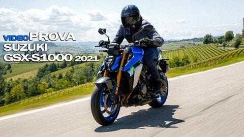 Video-prova Suzuki GSX-S1000