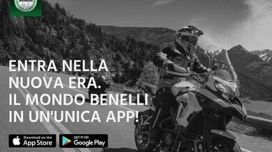 MyBenelli, la nuova app per essere sempre connessi alla moto