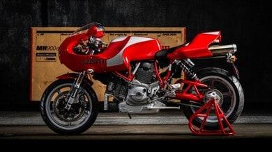 Ducati MH 900e: all'asta da Bring a Trailer un esemplare quasi nuovo