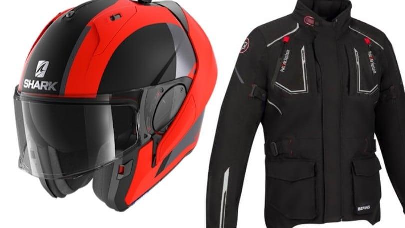 La giacca Bering Oural e il casco Shark Helmets Evo-ES: due capi per l'estate
