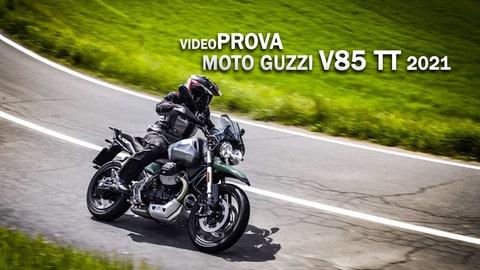 Video-prova Moto Guzzi V85 TT 2021 VIDEO