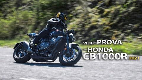 Video-prova Honda CB1000R Black Edition, una pantera in agguato