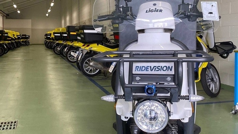Poste Italiane, la flotta guida più sicura con Ride Vision