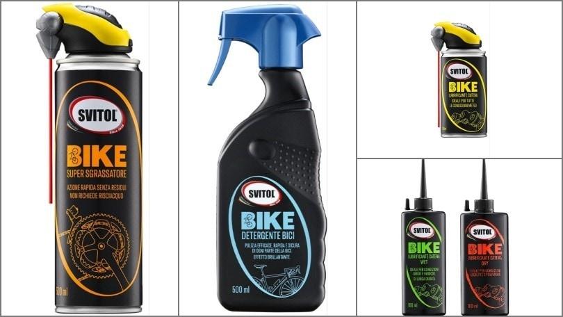 Svitol Bike, ecco i prodotti per la manutenzione di bici ed e-bike
