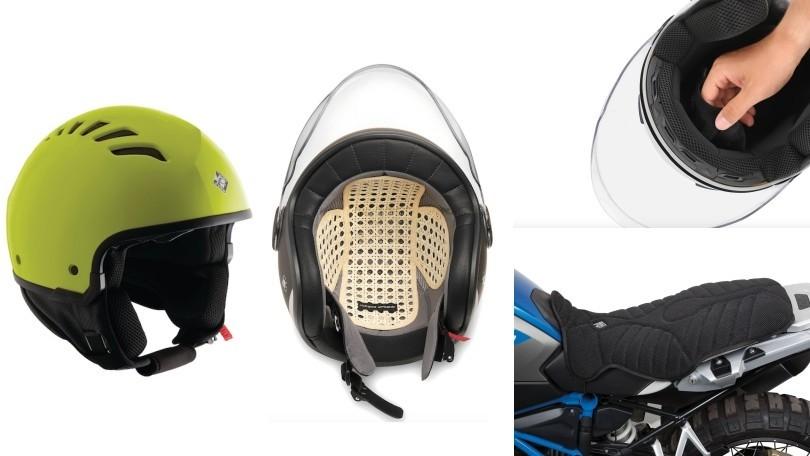 Combattere il caldo in moto con gli accessori di Tucano Urbano