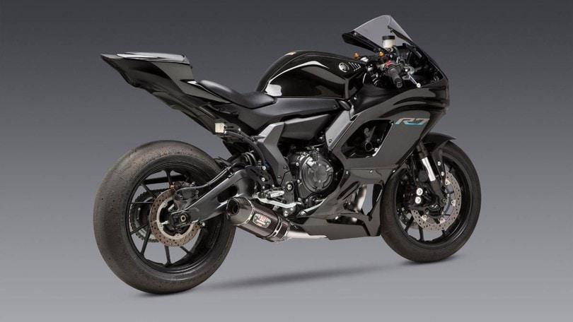 """Yamaha R7: più """"cattivella"""" con lo scarico Yoshimura"""