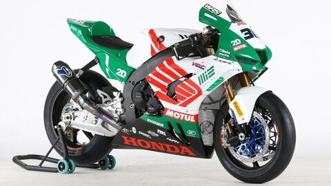 MIE Racing Honda Team:la livrea Castrol sulla Honda CBR1000RR-R Fireblade
