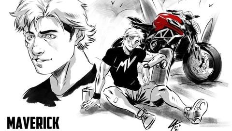 MV Agusta Comics: le moto del Marchio diventano un fumetto