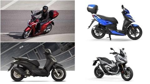 Top 10: gli scooter preferiti dagli italiani