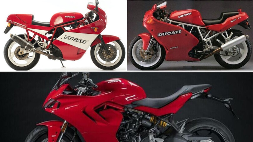 Come è cambiata: Ducati Supersport