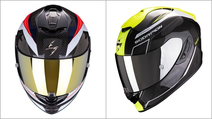 Scorpion EXO 1400 Air Carbon: il casco premium in fibra ultra-TCT