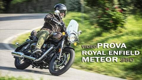 Video-prova Royal Enfield Meteor 350, la cruiser per tutti
