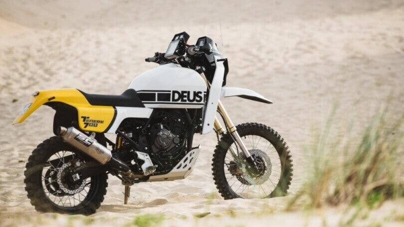 Yamaha Deus Ténéré: la special vintage in puro stile Dakar