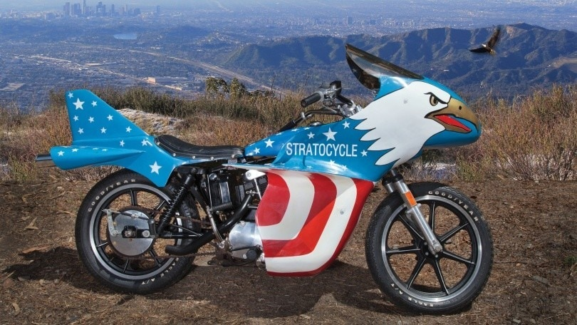 Harley-Davidson Stratocycle: la moto di Evel Knievel va all'asta