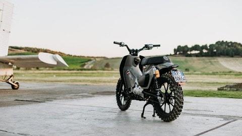 Honda Super Cub C125X, concept by Motocicli Audaci di Cagliari