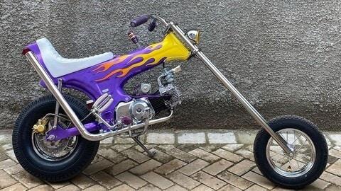 "Honda Dax ""Ramone"" by Lemb Inc."