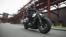 Prova Harley-Davidson Sportster S LE FOTO