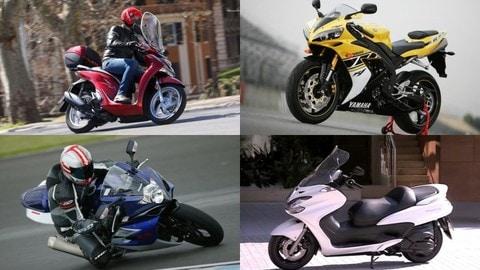 Furti moto: la Top10 degli scooter (e moto) più rubati in Italia
