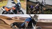 """Aprilia, Yamaha, KTM: la nuova sfida delle medie da 21"""""""