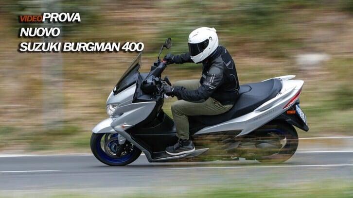 Video-Prova Suzuki Burgman 400: operazione commuting