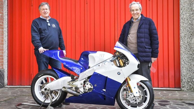 """Una MotoGP """"made in Italy"""": la 3 cilindri BMW by Oral Engineering"""
