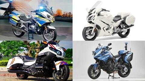 Top 10: le moto più potenti della Polizia