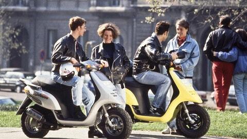 I motorini degli anni '90 FOTO