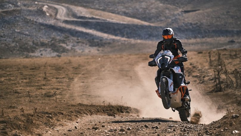 KTM Adventure Rally 2021: la gioia terrena